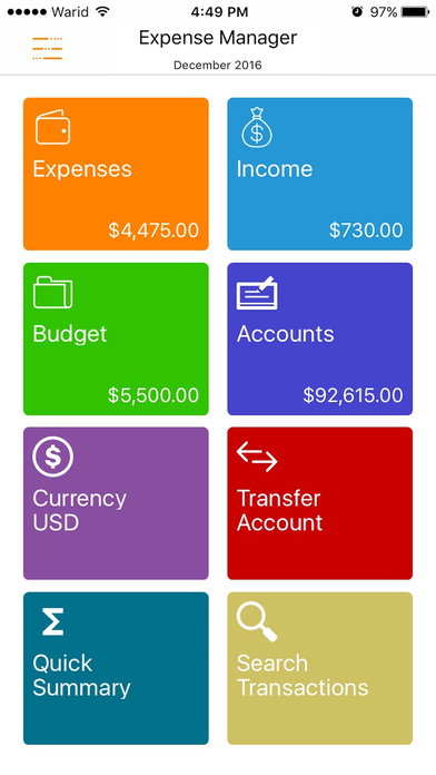 Express Expense Manager