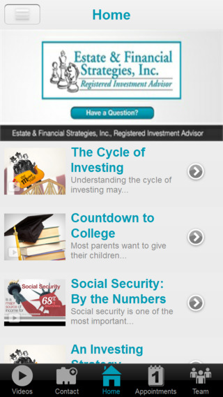 Estate  Financial Strategies, Inc.