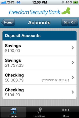 Freedom Security Mobile Banking