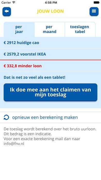 FNV Handel: IKEA toeslagencheck