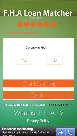 FHA Loan Matcher