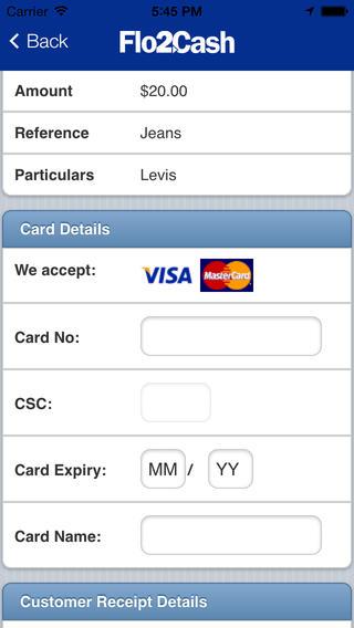 Flo2Cash Mobile Payment Terminal