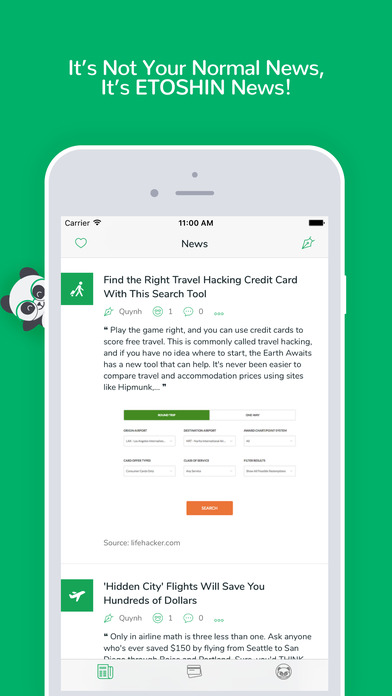 Etoshin: Manage Credit Card Points  Airline Miles