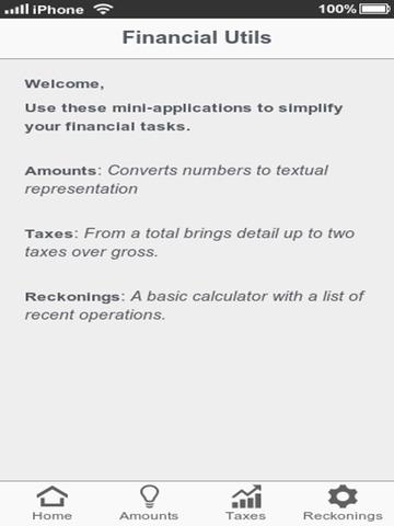 Financial Utils