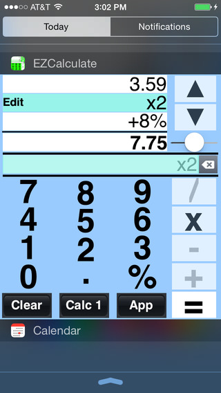 EZCalculate Widget