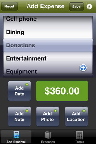 Expense Reports Lite