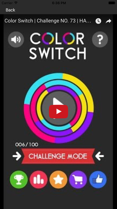 秘籍對於 Color Switch