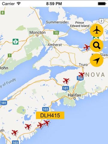 Flight Navigation Pro - Live Flight Tracking  Status