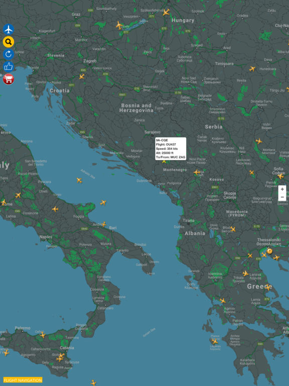 Flight Navigation - Live Flight Tracking & Status