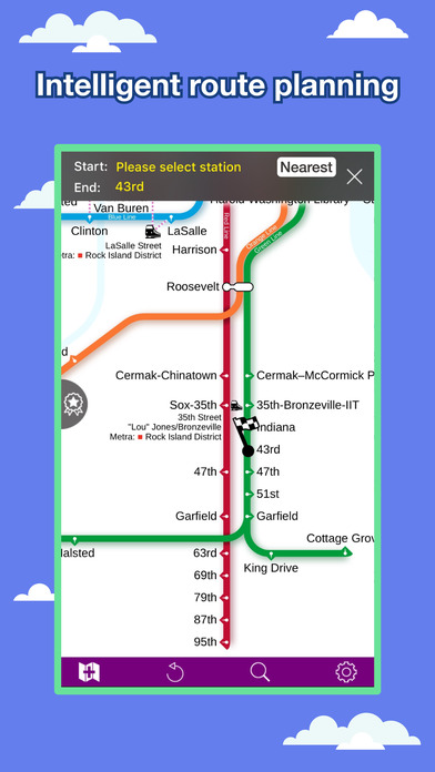 Chicago Transport Map