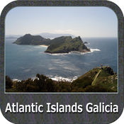 Atlantic Islands Galicia GPS Map Navigator 4.7