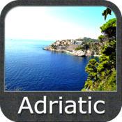 Boating Adriatic Sea South East GPS Map Navigator 5.3.