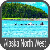 Boating Alaska North West GPS maps fishing charts 5.3.