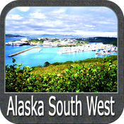 Boating Alaska South West GPS maps sailing charts 5.3.