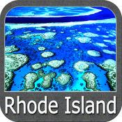 Boating Rhode Island to Maine GPS chart Navigator 5.3.