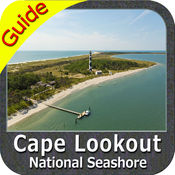 Cape Lookout National Seashore - Topo
