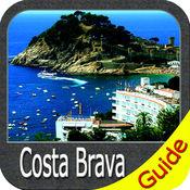 Costa Brava charts GPS offline map Navigator