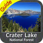 Crater Lake National Park - GPS Map Navigator