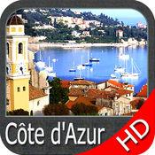 Marine : Côte d'Azur HD - GPS Map Navigator 5.3.1