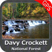 Davy Crockett National Forest - GPS Map Navigator