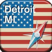 底特律地图