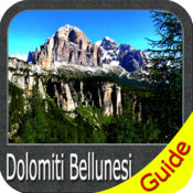 Dolomiti Bellunesi National Park - GPS Map Navigator