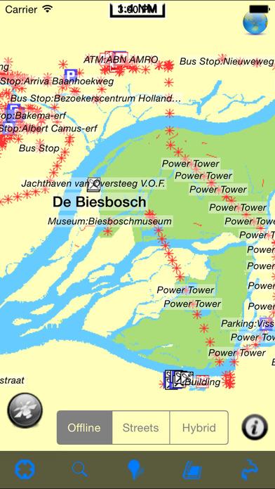 De Biesbosch National Park - GPS Map Navigator