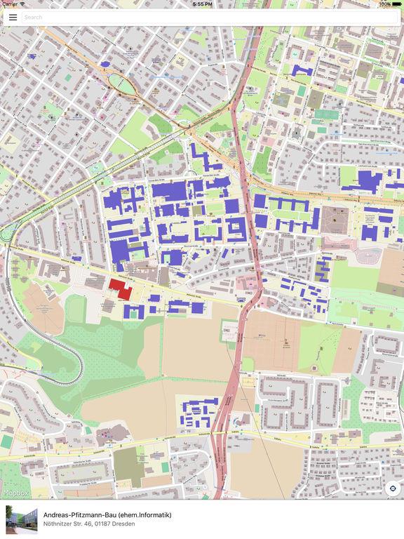 Campus Navigator - TU Dresden