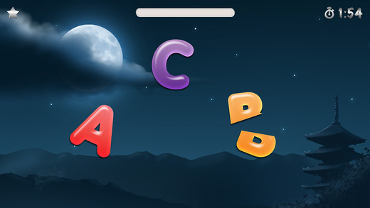 ABC Ninja: Alphabet Letters Phonics Slicing Game