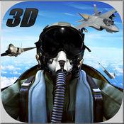 Air Force Fighter Jets Strike 3D Flight Simulator 1