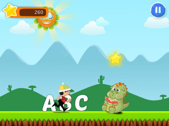 ABC runner for kids