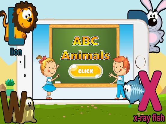 ABC动物为孩子