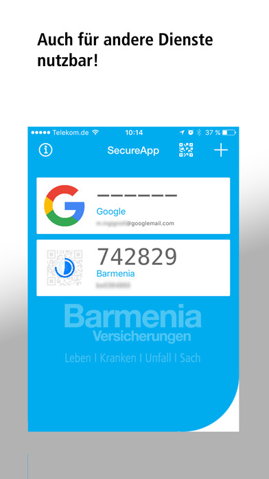 Barmenia SecureApp