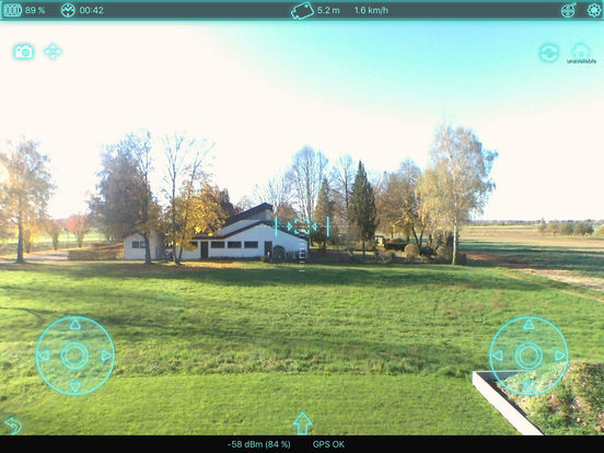 Bebop Control for Parrot's Bebop Drone