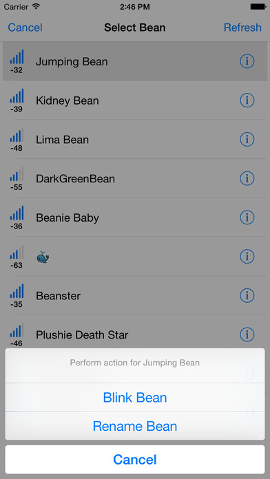 Bean Loader - LightBlue Bean