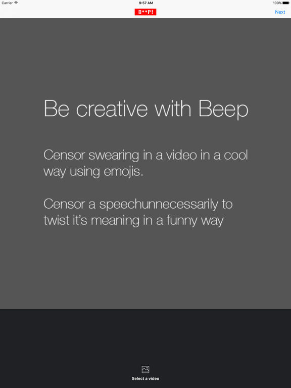 Beep - Censor videos in a cool way