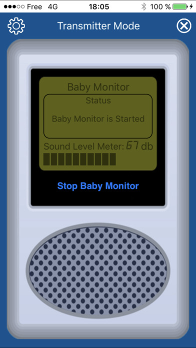 Baby Monitor Microphone - Lite