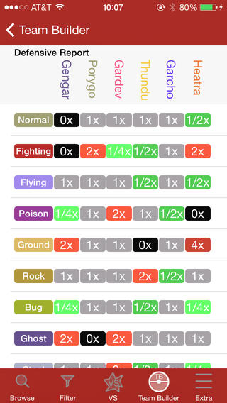Battle Guide for Pokemon