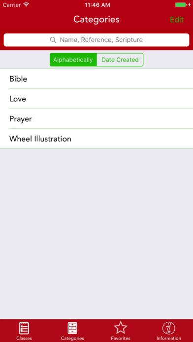 Bible Binder: Bible Scripture Memory Utility