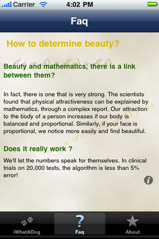 Beauty : the Test