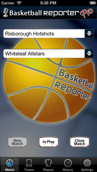 Basketball Reporter Pro