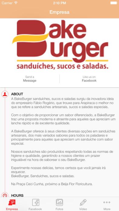 Bake Burger