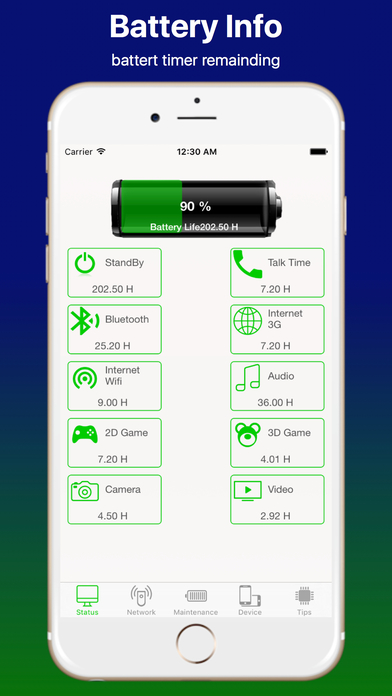 Battery Saver with Info Pro