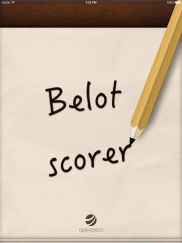 Belot Scorer
