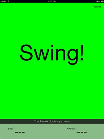 Batting Reaction Time