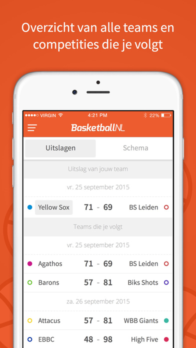 Basketball NL