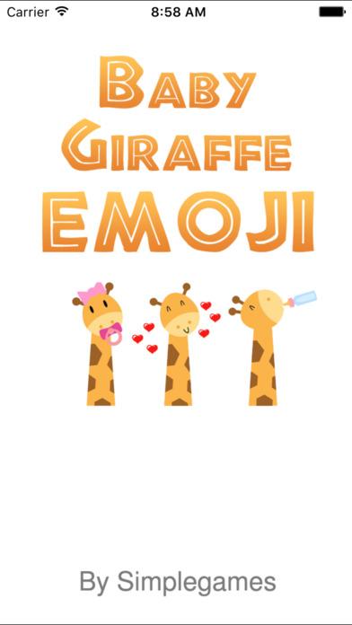 Baby Giraffe Emoji  Keyboard
