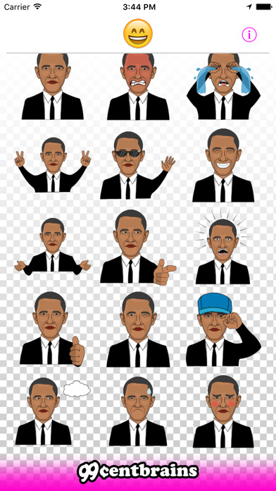 Barack Obama Emojis