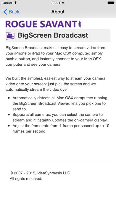 BigScreen Broadcast