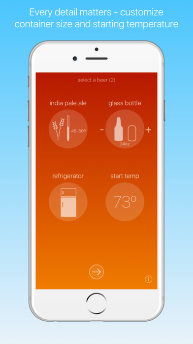BeersCold - a beer timer for beer lovers and geeks